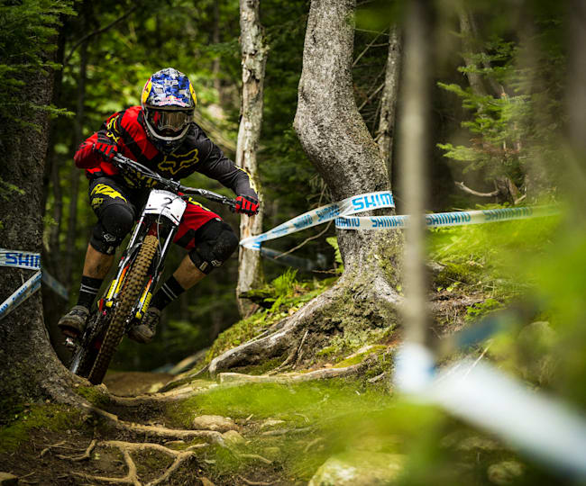 UCI Mountain Bike World Cup Mont-Sainte-Anne Art
