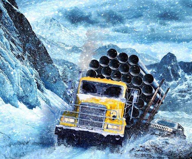 SnowRunner: Unterwegs im Gelände mit der Offroad-Simulation