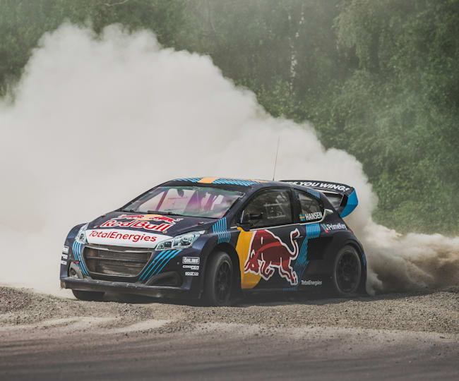 Timmy Hansen in the driving seat for World RX