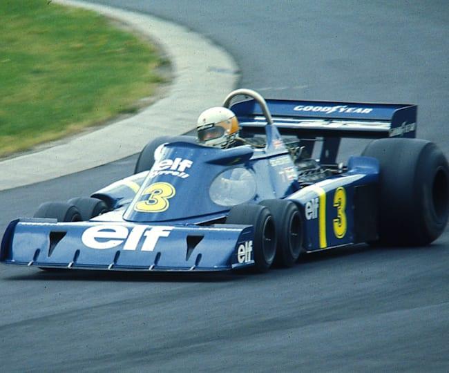 Jody Scheckter au volant de la P34