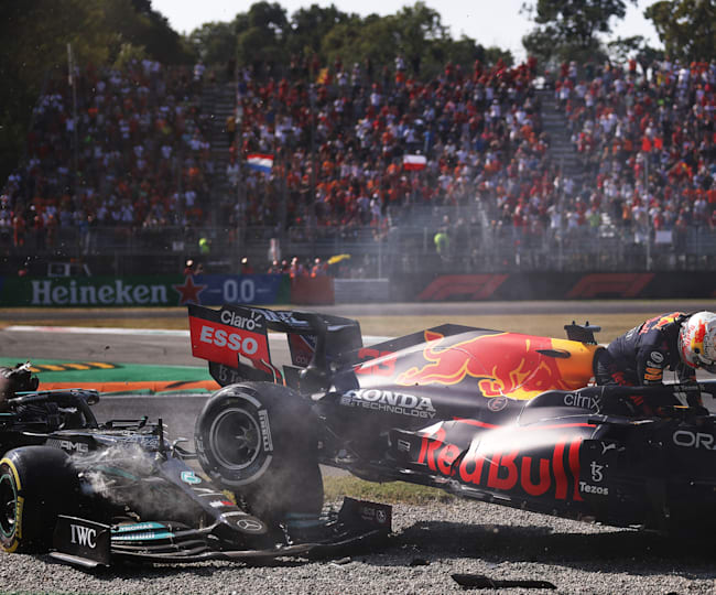 Significant Clash At First Chicane