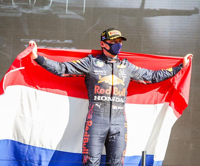Max Verstappen holt sich den Heimsieg in der Niederlande.