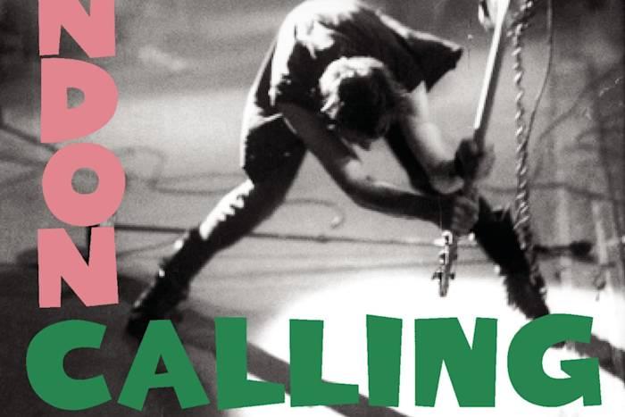 Portada de 'London Calling', de The Clash (1979).