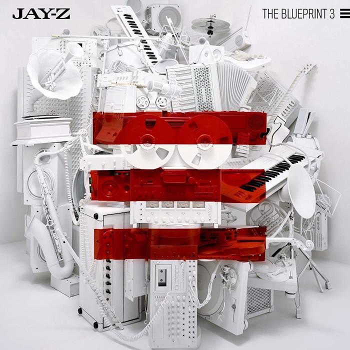 Portada de 'The Blueprint 3', de Jay-Z (2009).