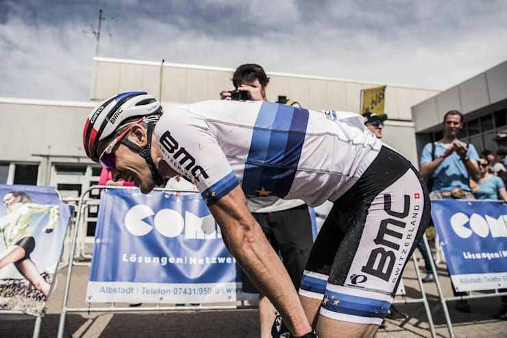 Absalon exausto após sprint