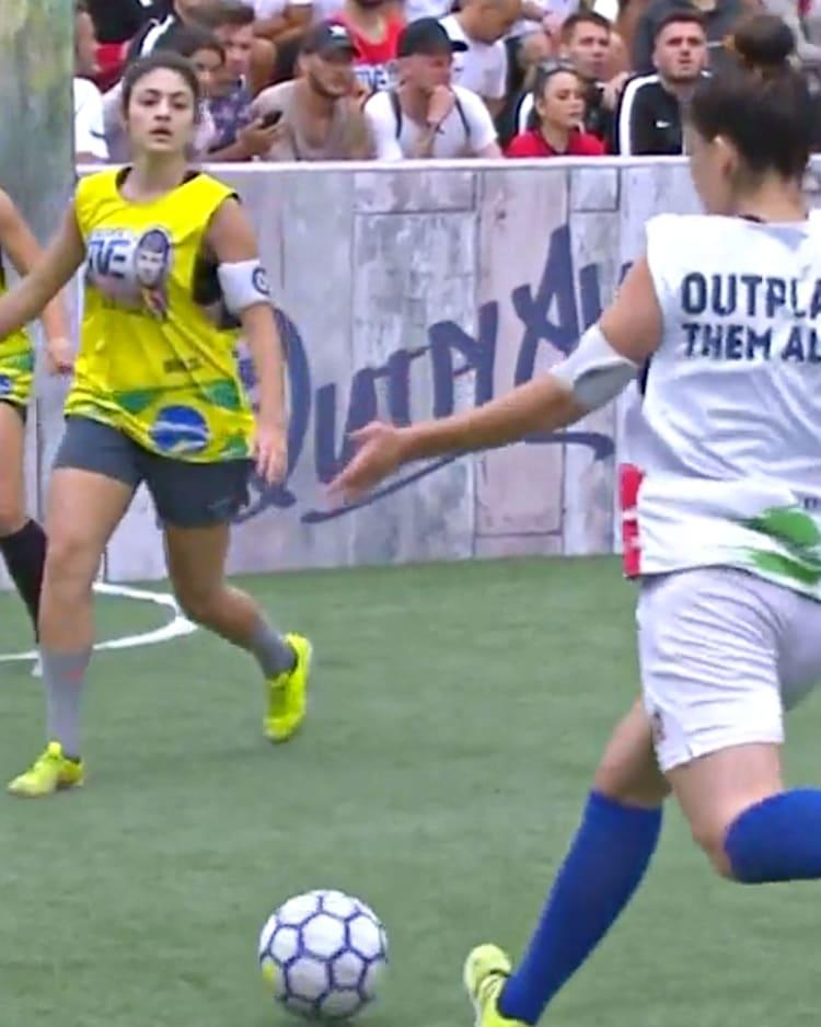 Ladies football brazilian Brazil women's