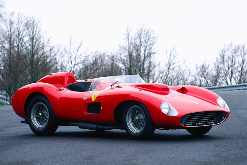 Ferrari 335 Becomes Most Expensive Car Red Bull