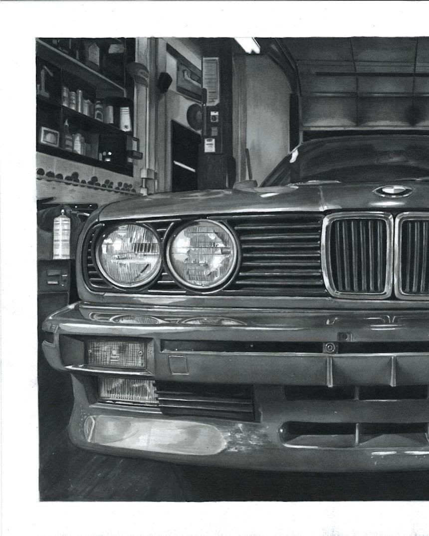 Realistic Car Drawings Interview With Przemek Wiecek