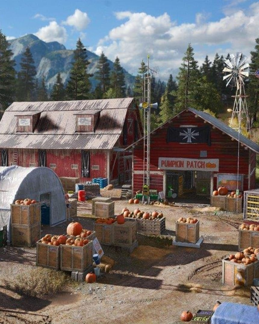 Ubisoft Interview Far Cry 5 S Scary Montana Red Bull