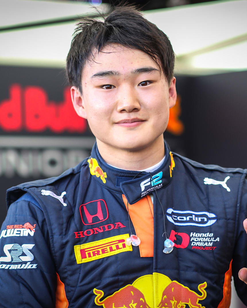 Yuki Tsunoda Second At The Red Bull Ring From F2 Pole