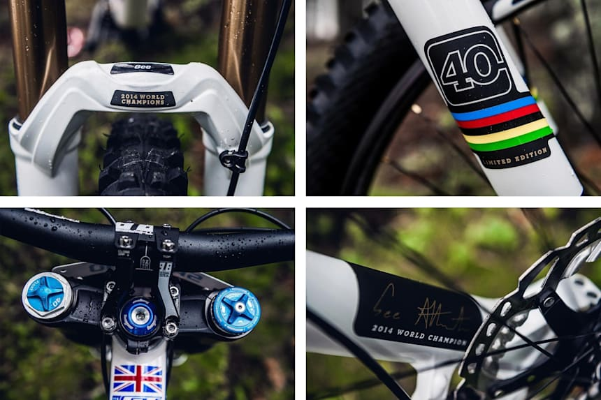 World Champion UCI rainbow Stickers road bike bicycle Frame decals For race