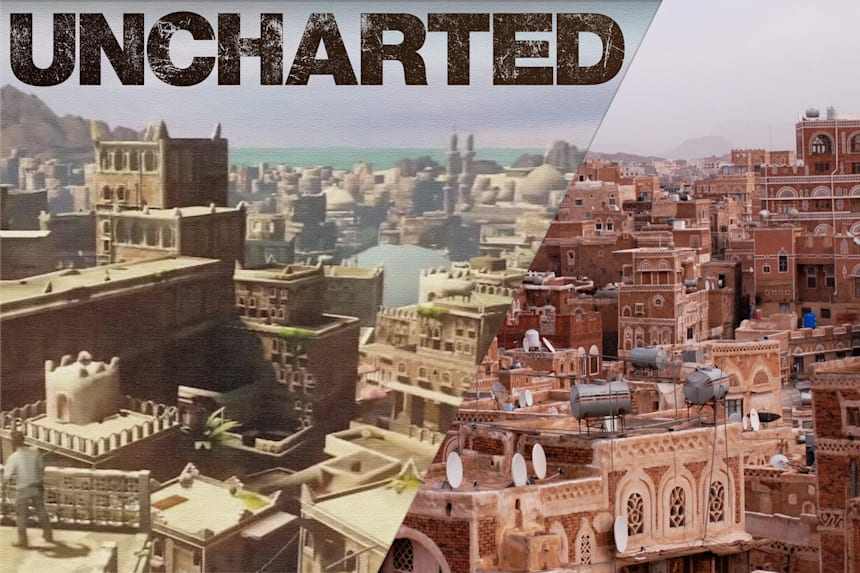 Uncharted Trilogy Locations In Real Life