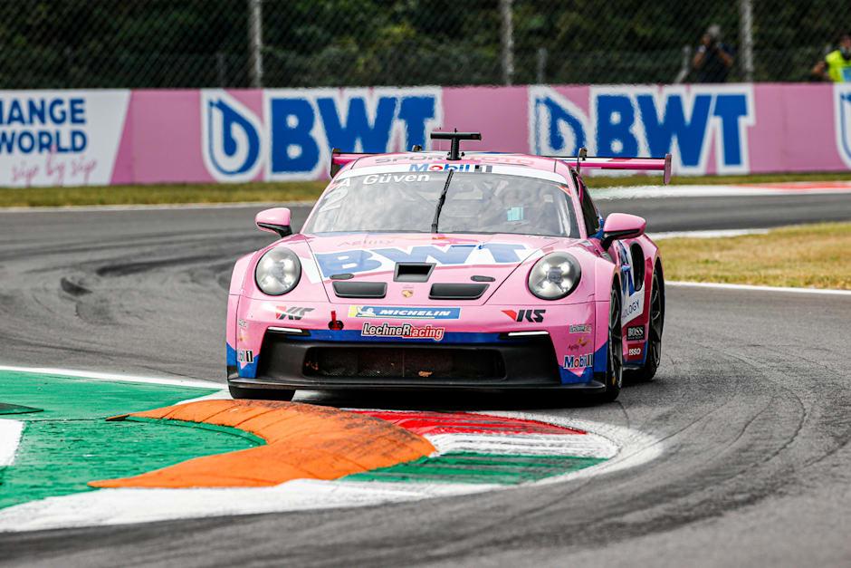 Ayhancan, Monza'da yarışa ilk sırada başladı