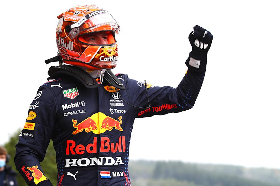 Max Verstappen, Belçika GP'sine pol pozisyonunda başladı.