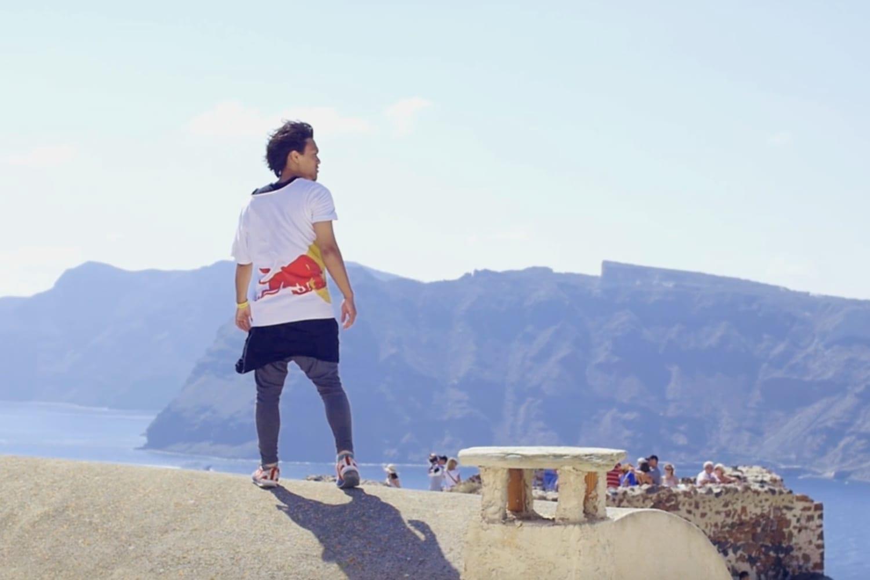 Abudi Alsagoff in Santorini