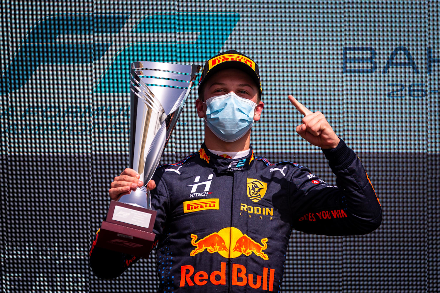 Lawson wins in Bahrain F2 – 2nd in chase, Daruvala 3rd