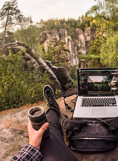 Are you a digital nomad or a new Danny MacAskill?
