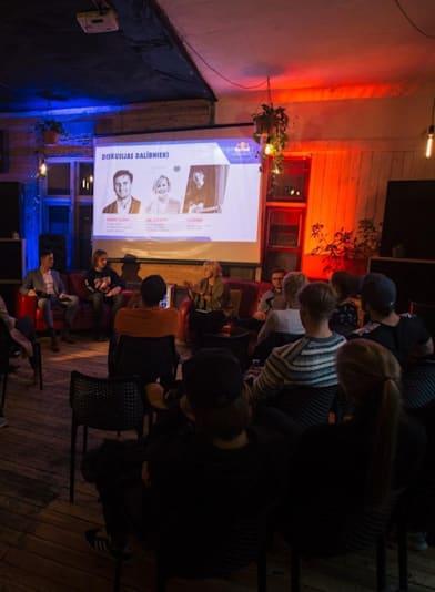 Tech4good diskusija noslēdzas ar jaunām idejām studentu dzīves uzlabošanai