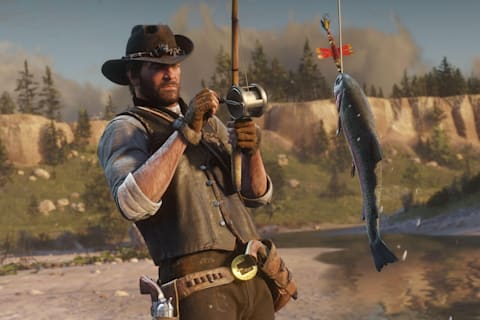 Red Dead Redemption 2 preview: How to fish