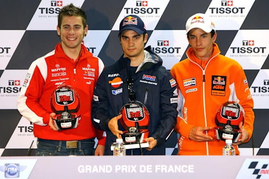 ¿Cuánto mide Marc Márquez? - Altura - Real height May-2009-future-team-mates