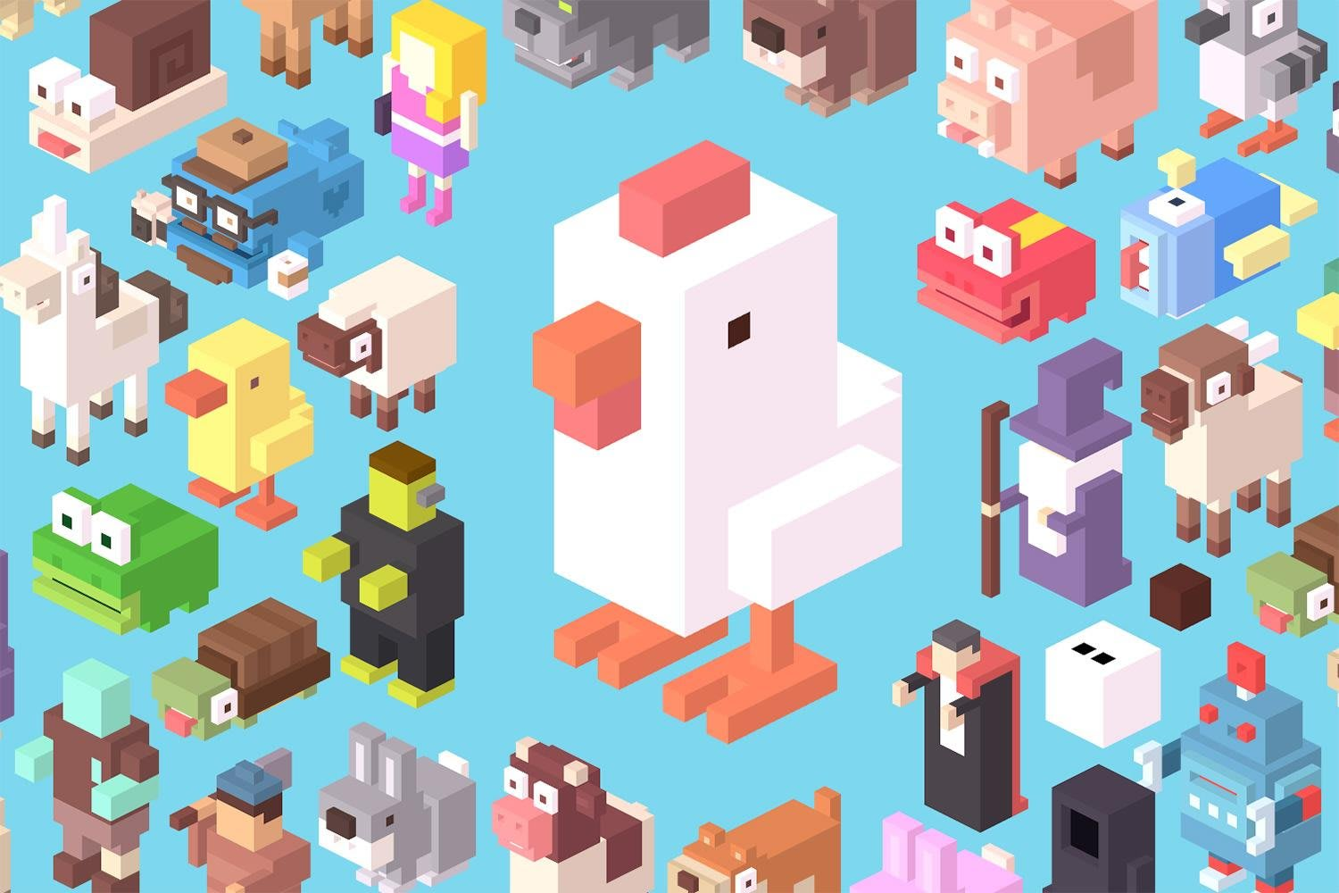 Crossy Road Hipster Whale interview