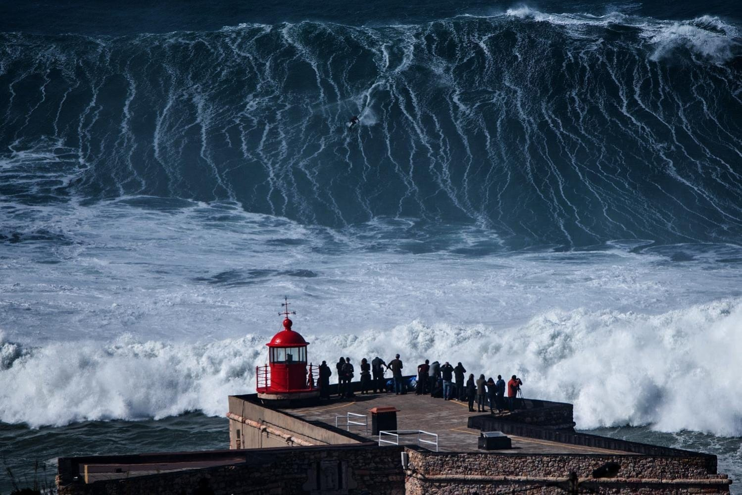 Big wave surfing on TV: 60 Minutes Nazare *Intervew*