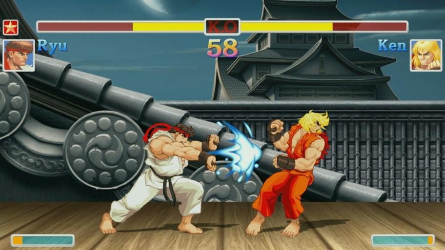 street fighter 2 ryu moves