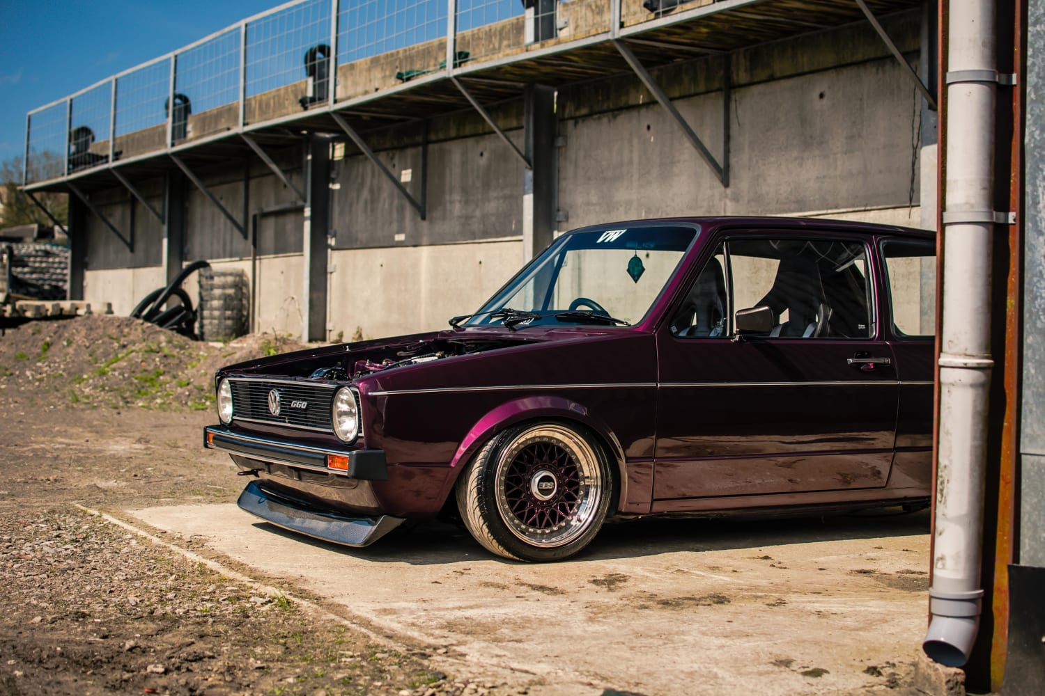 Modified Mk1 Golf G60 Go Inside This Modified Beauty