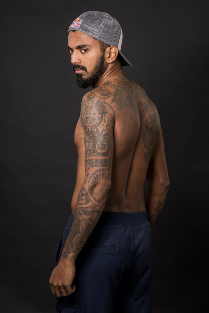 KL Rahul tattoos   Athletes Tattoos   KreedOn