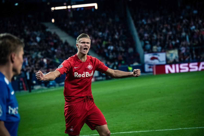 Erling Haaland Champions League Hat Trick Interview
