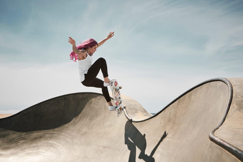 Best 8 Female Skateboarders in the World   Red Bull