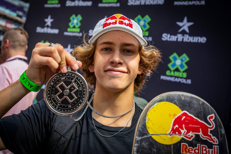 X Games Gold Medalist Jagger Eaton Feature Skateboard
