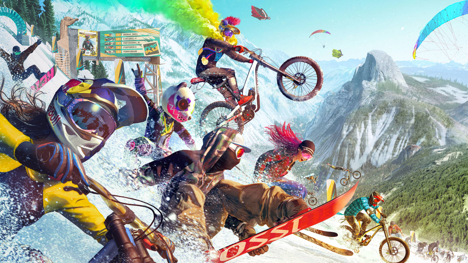 Riders Republic: 5 things to know about the video game