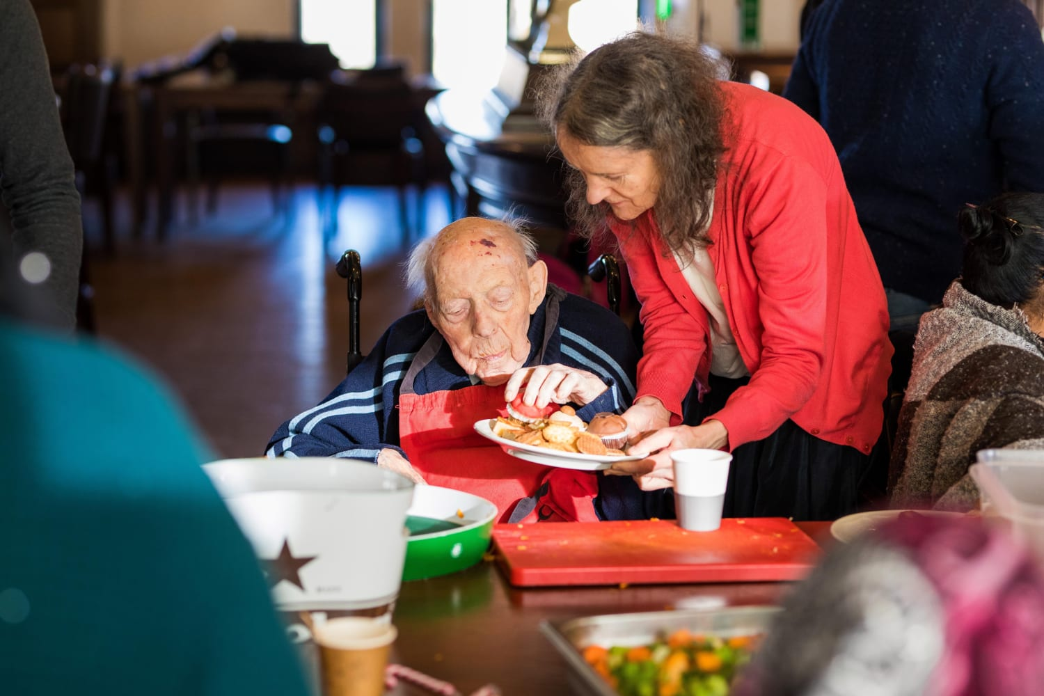 Soep food and cooking for the elderly