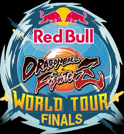 Logo des Logo Red Bull DRAGON BALL FighterZ – World Finals.