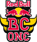 Red Bull BC One logo.