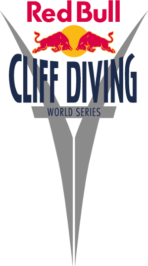 Logo Red Bull Cliff Diving World Series.