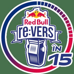 Logo Red Bull re:VERS în 15