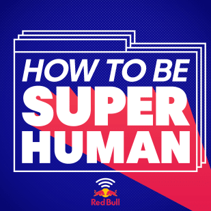 Red Bull How To Be Superhuman Podcast logo