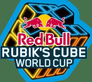 Rubiks Cube Neon Logo new