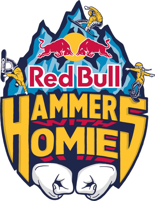 Red Bull Hammers with Homies Logo