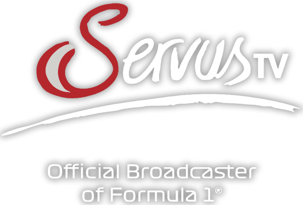 Servus TV Official Broadcaster of Formula 1 Logo