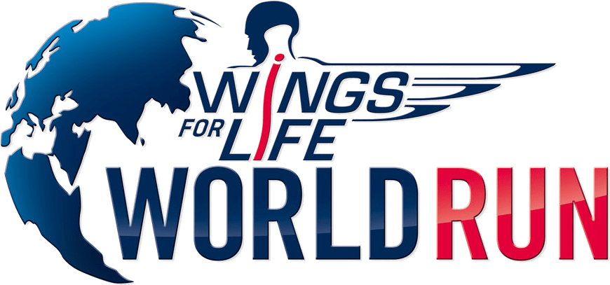 Logo Wings for Life World Run.