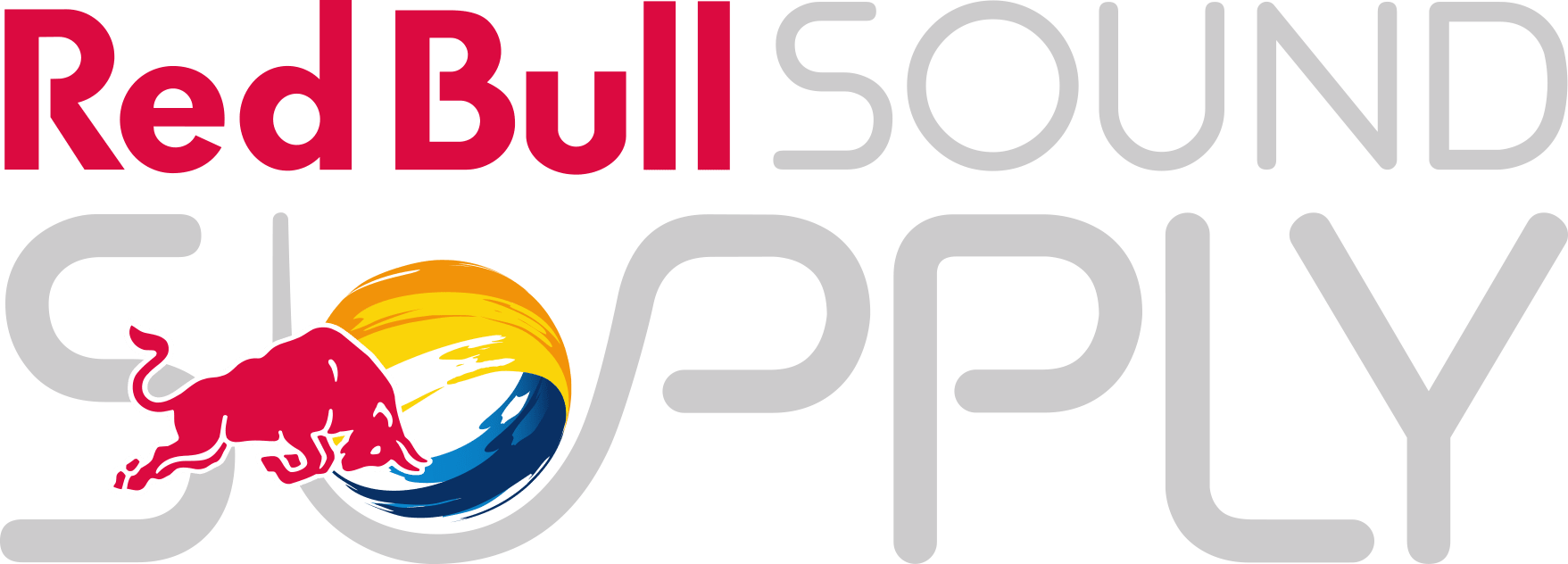 Red Bull Sound Supply Logo Neg