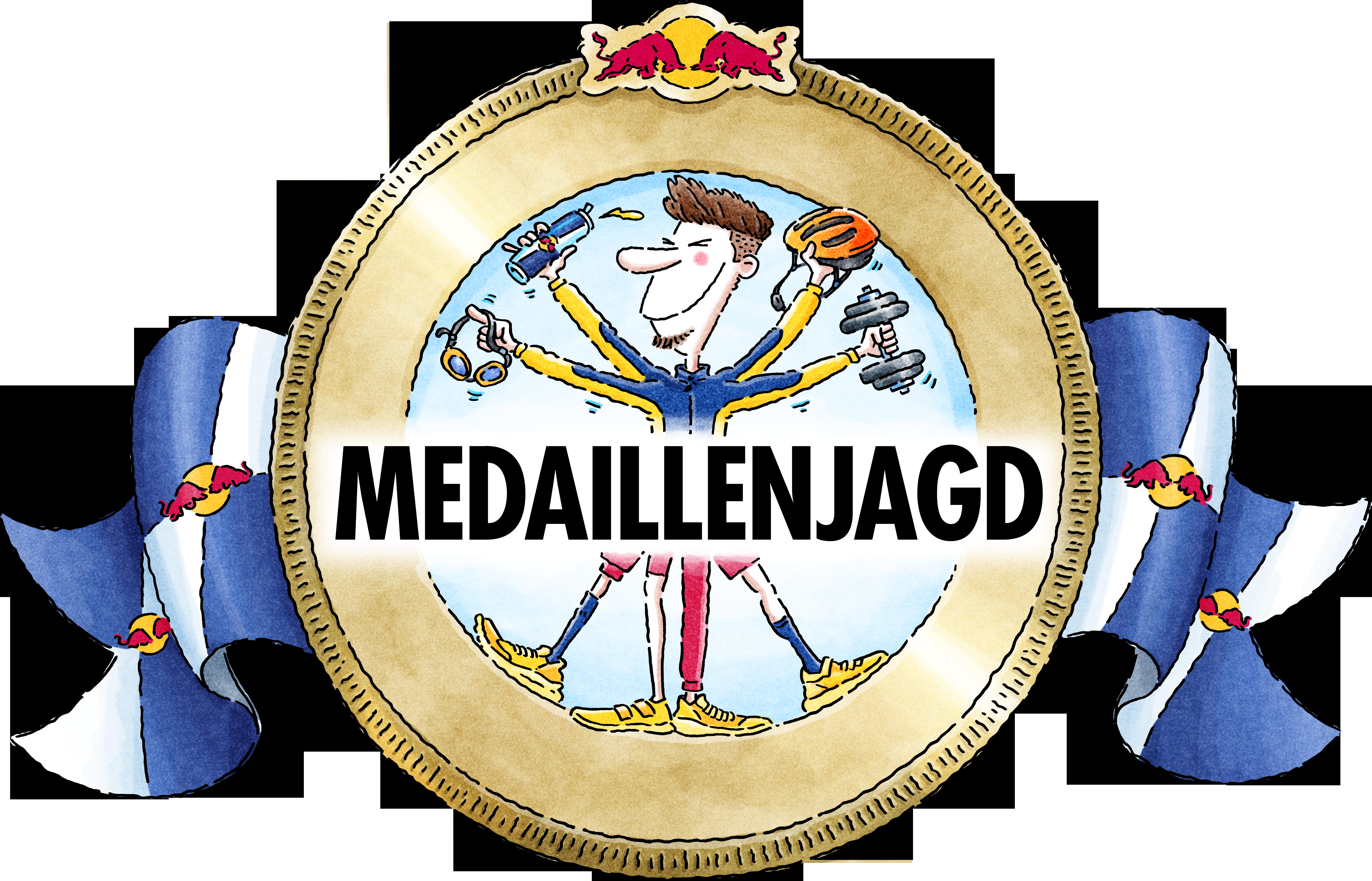 Medaillenjagd Logo
