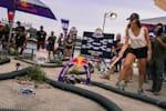 Red Bull ambassador supervises the university event Red Bull Desert Wings