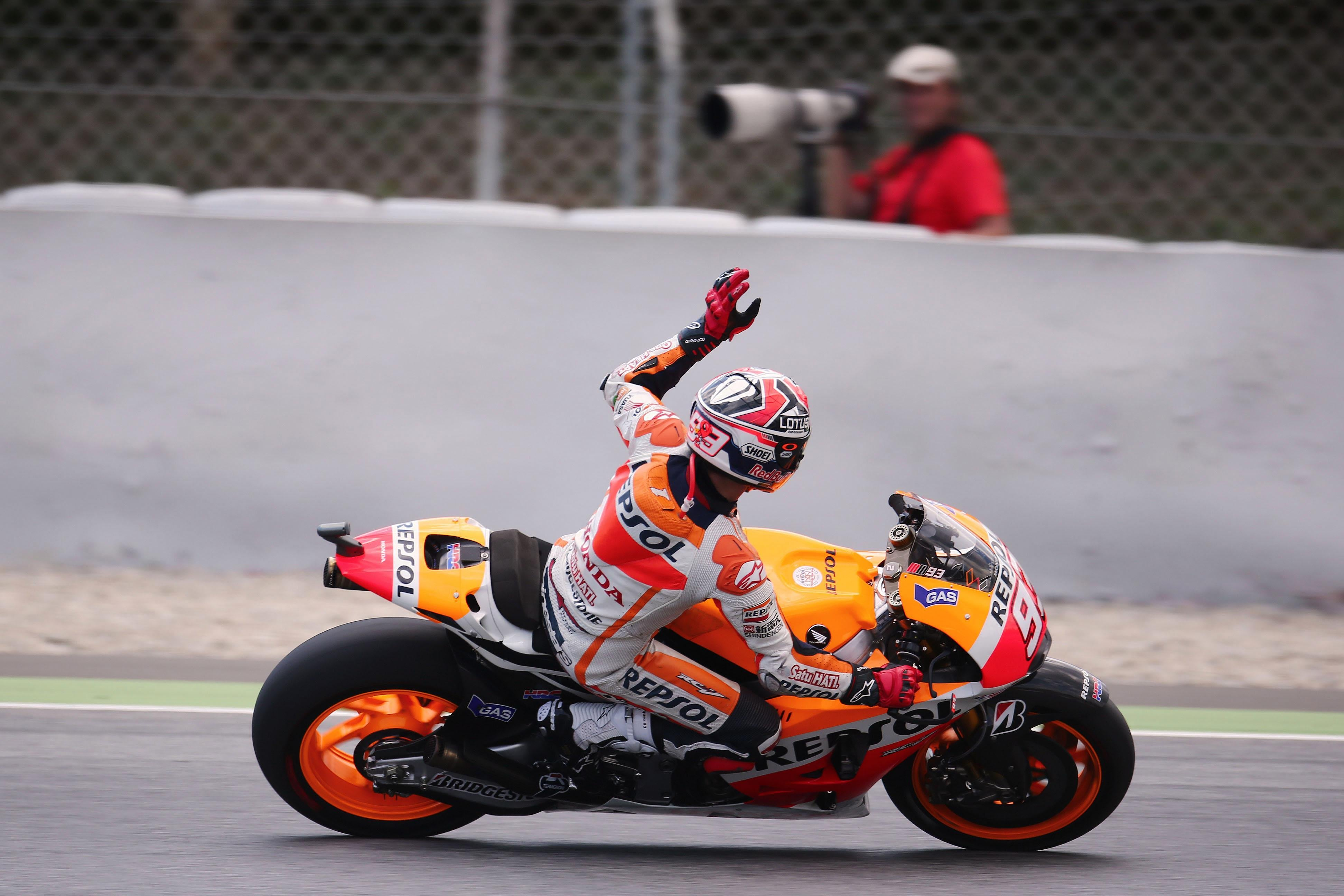 Motogp Race Report Quotes And Facts From Catalunya