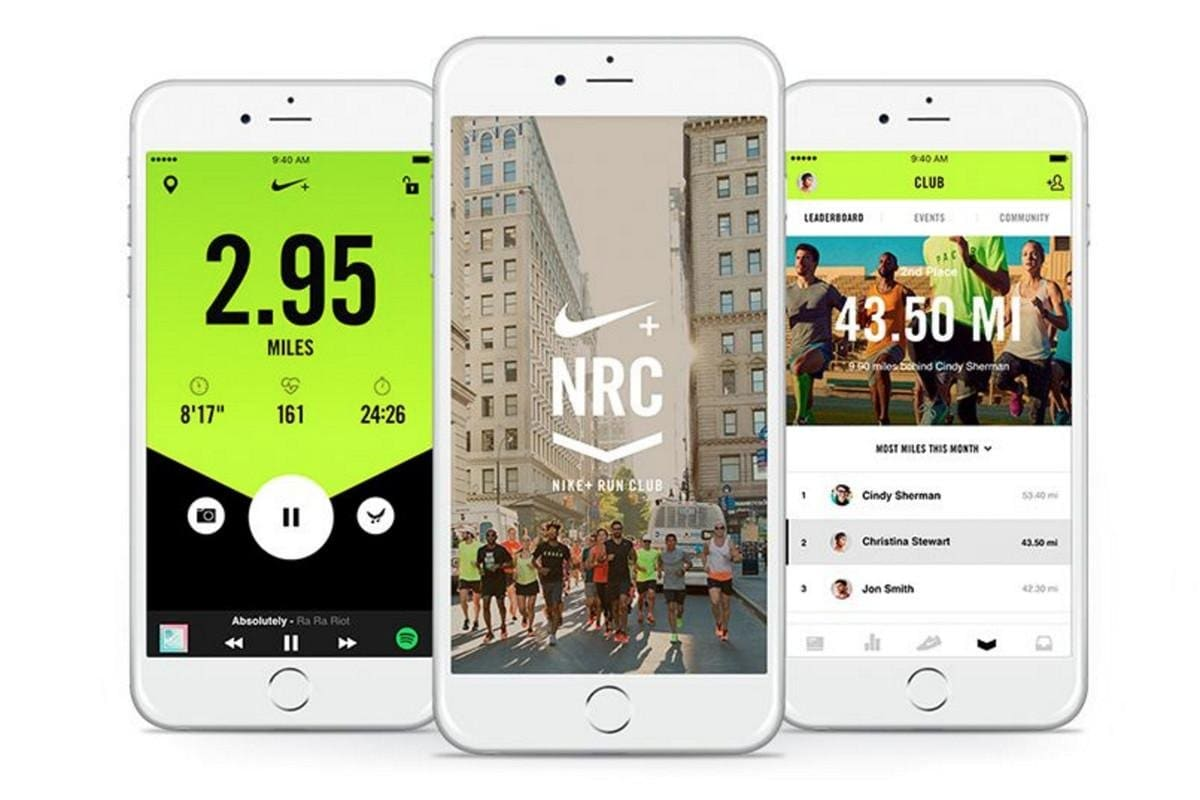 fitbit and nike run club Shop Clothing