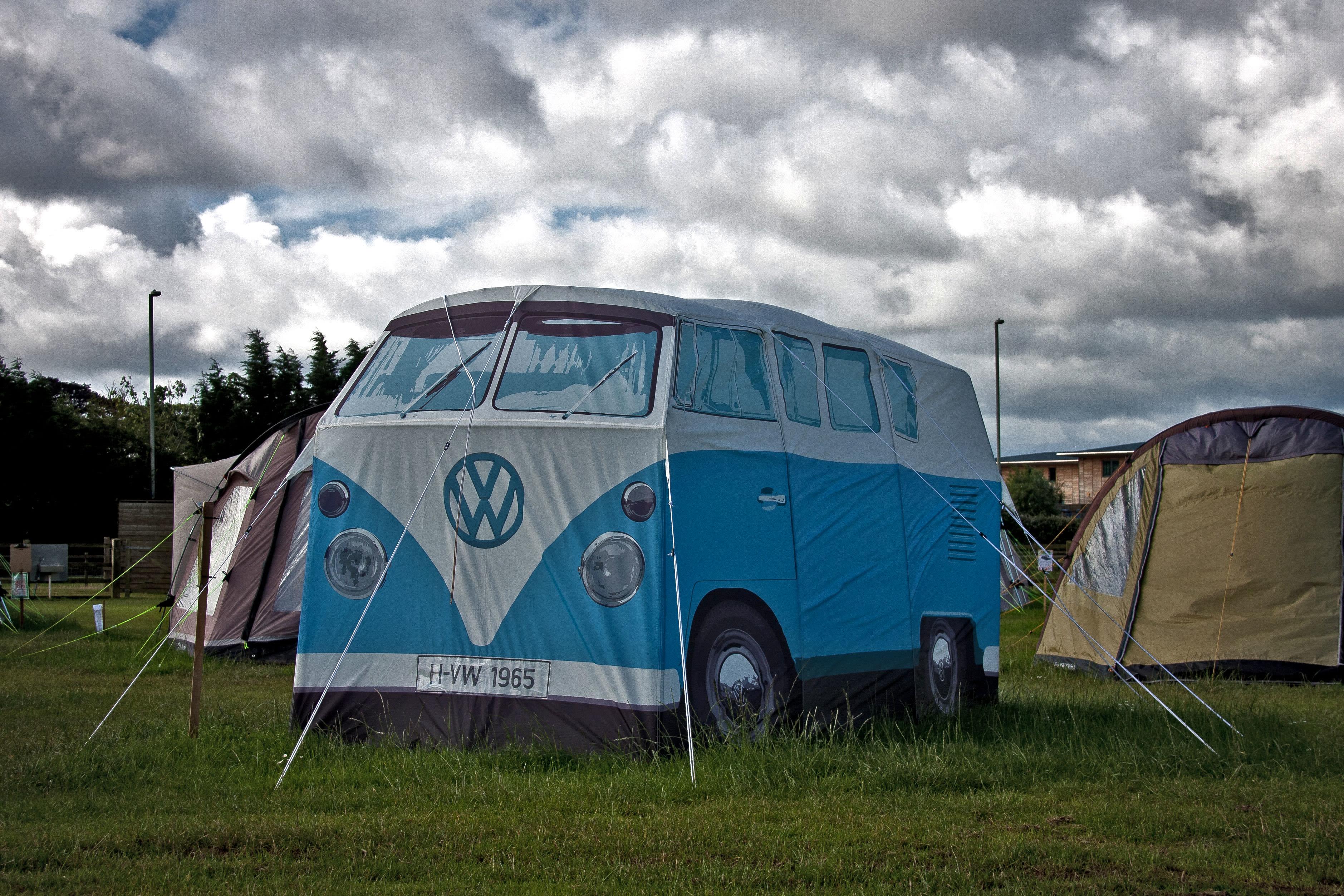 pop up camper van tent price