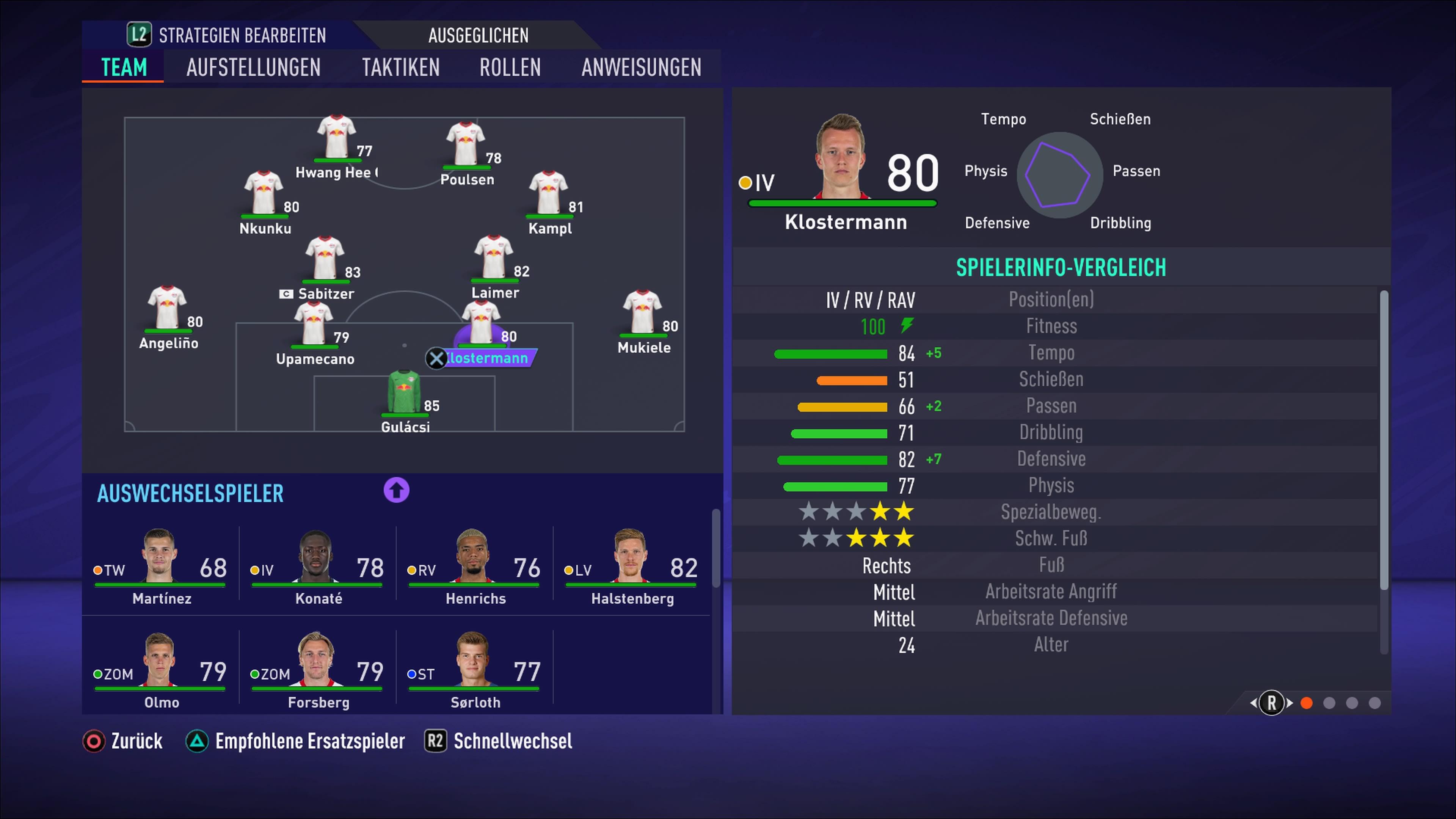 FIFA 20 RB Leipzig So spielt ihr mit den Roten Bullen